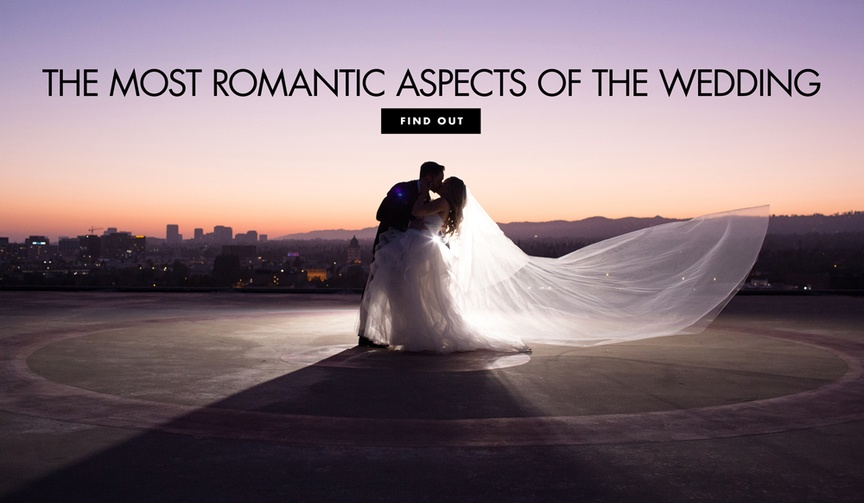 6 most romantic parts moments wedding ceremony reception couples love romance marriage sentiments
