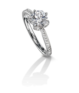 Furrer Jacot 53-66741-0-W white gold engagement ring