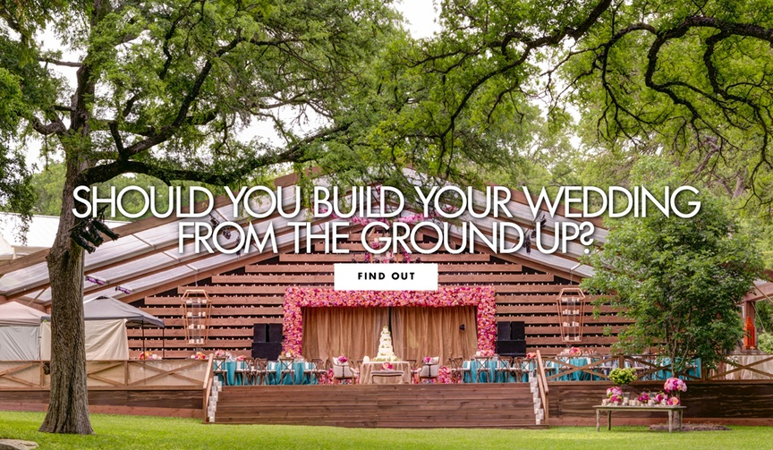 Should you build your wedding venue from the ground up