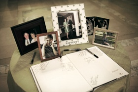 Personal photos and coffee table book