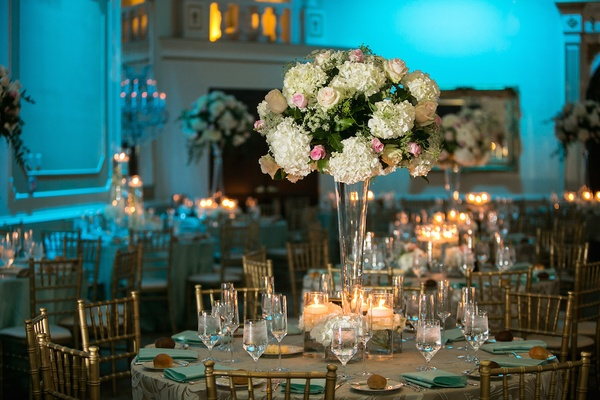 f35402ac49f Church Ceremony + Tiffany Blue Ballroom Reception in North Carolina ...