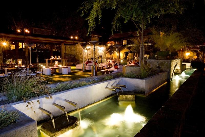 Villagio Inn & Spa in Yountville Napa Valley outdoor Pavilion