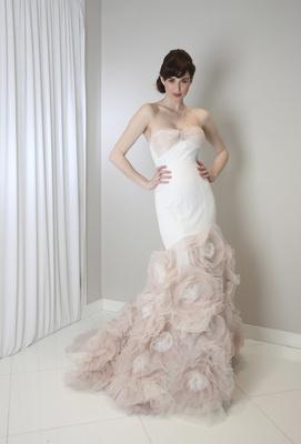 Mermaid Wedding Dresses For Sexy Curvy Brides Inside Weddings - Rosette Wedding Dress