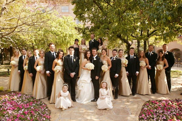 Classic Wedding with Shades of Gold in Pasadena, California ...