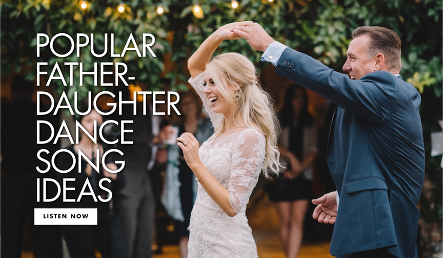 song ideas for father-daughter dance, father-daughter dance ideas