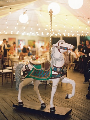 CJ Lana Perry and Miroslav Rusev Barnyashev circus theme wedding tent reception twinkle lights horse
