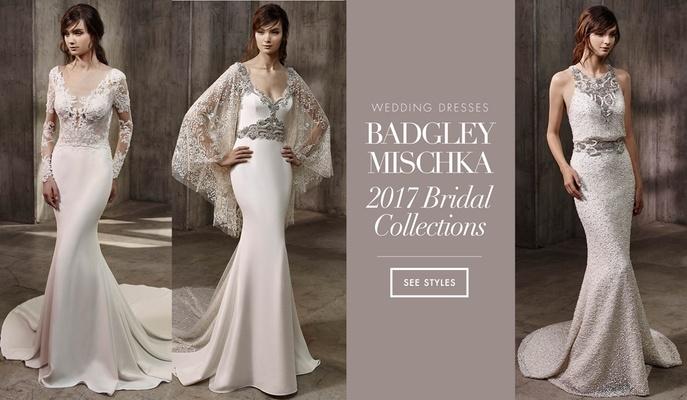 Wedding Dresses: Badgley Mischka Bride 2017 Collections - Inside ...