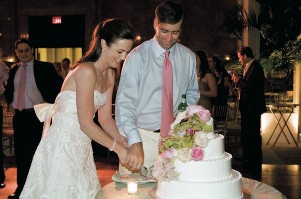 What are the details of a traditional christian wedding?