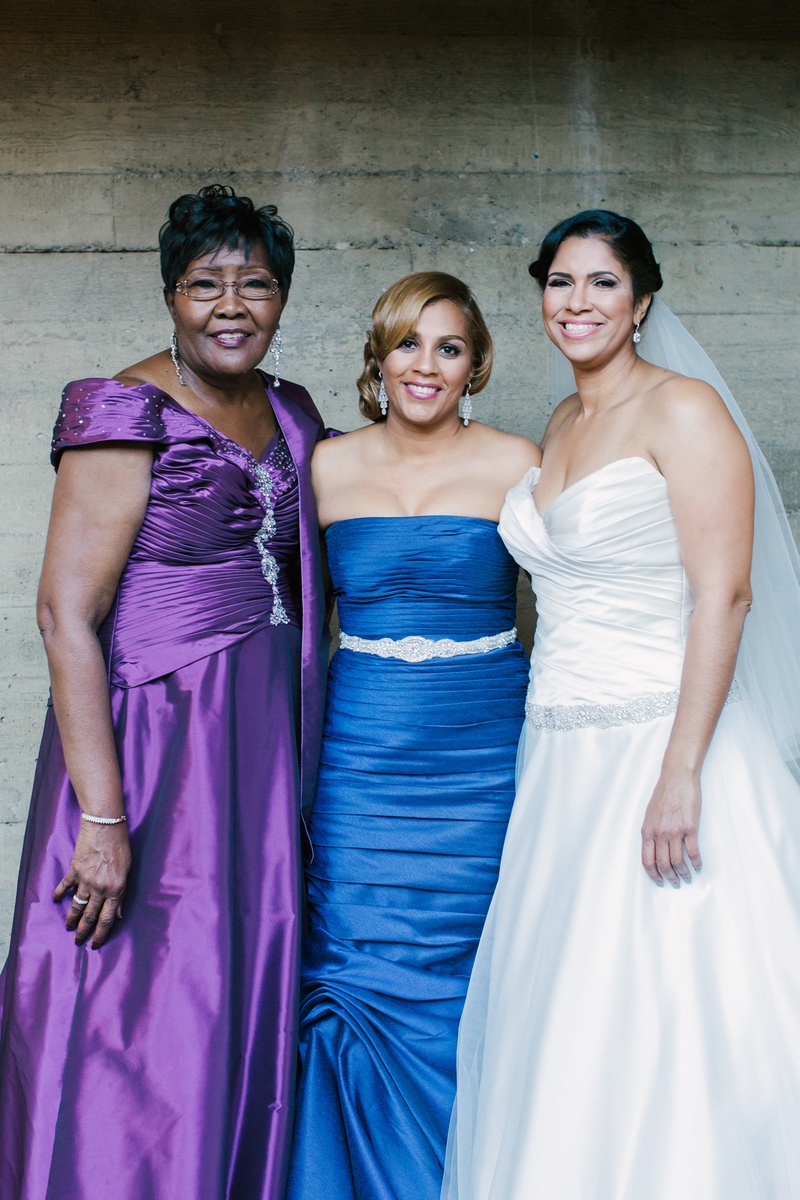 712104dd06f Mothers Photos - Purple Mother-of-Bride Dress - Inside Weddings