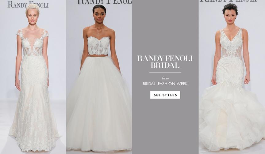 Randi Fenoli Bridal Spring 2018 collection kleinfeld bridal famous star TLC first line wedding dress