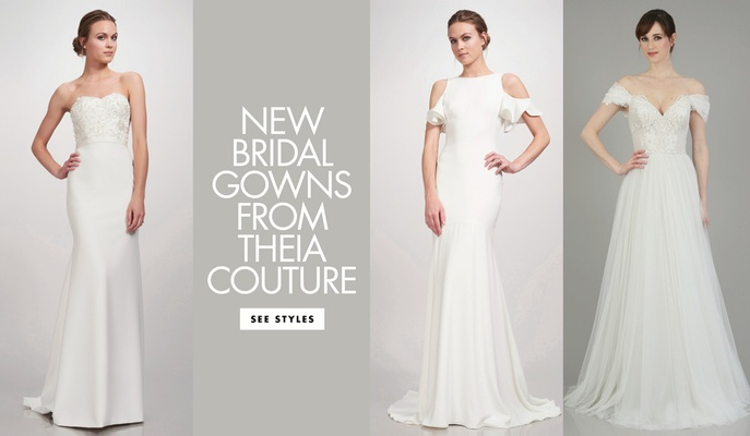 Trendy and Modern Bridal Gowns, Separates & Accessories from THEIA ...