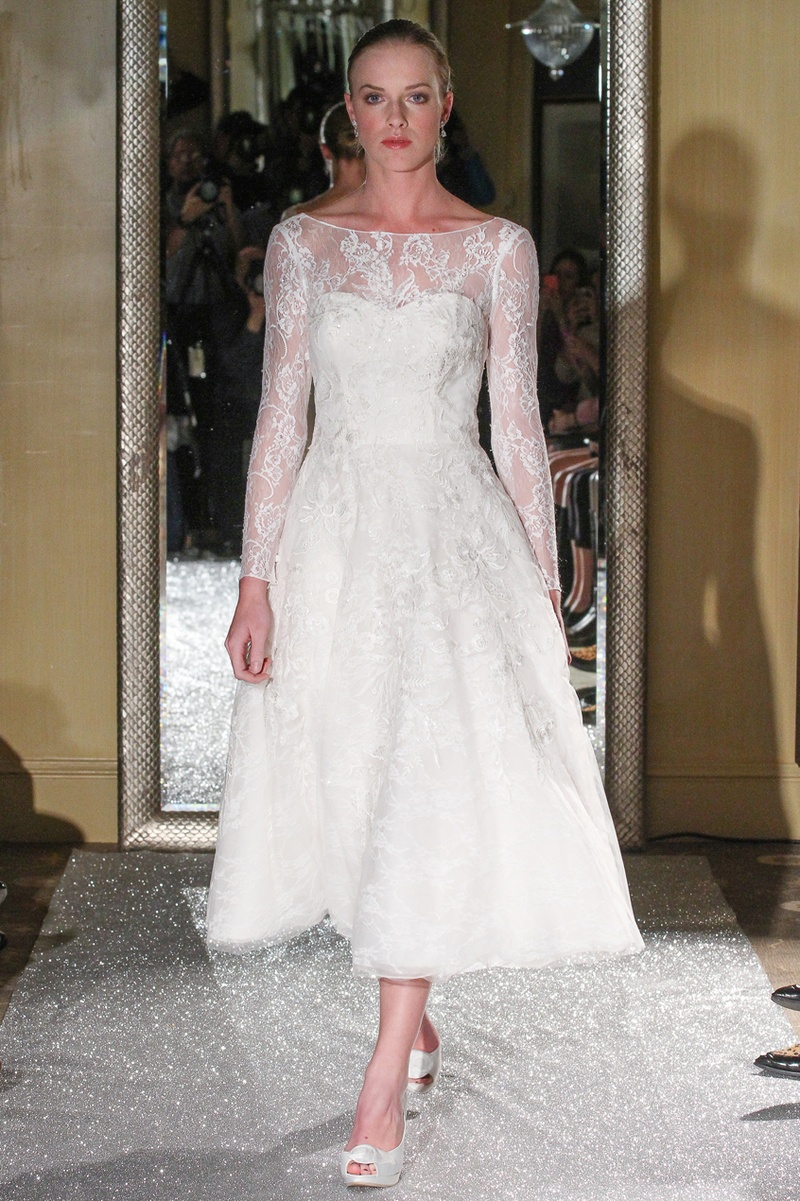 Wedding Dresses Photos Oleg Cassini Lace Gown Inside Weddings