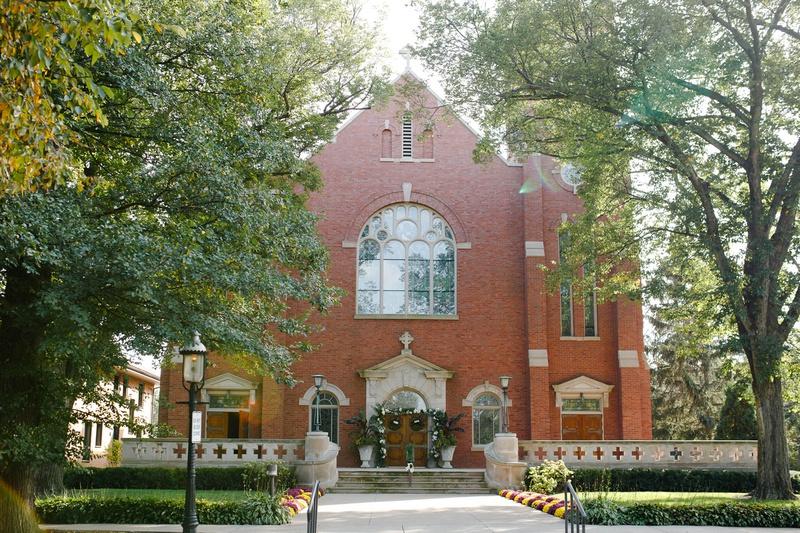wedding ceremony location classic church wedding catholic house of worship