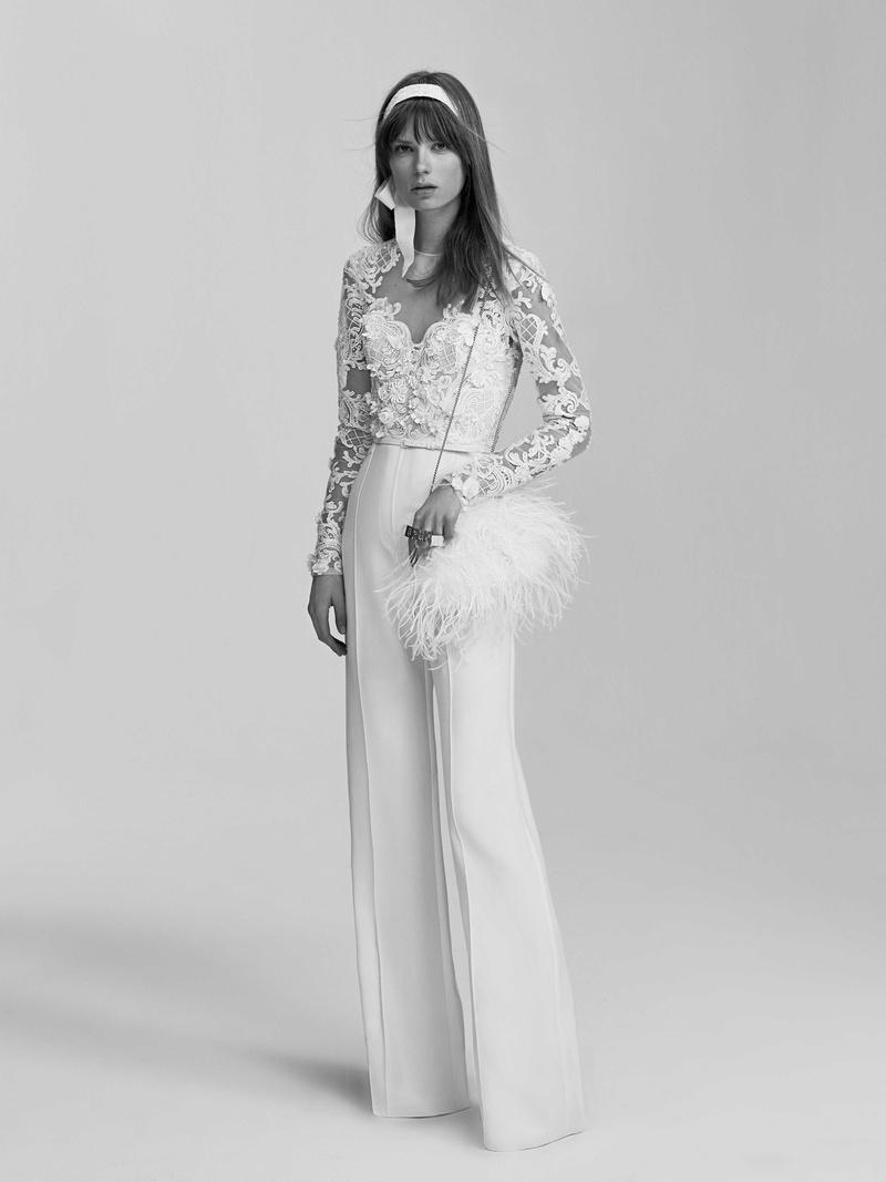 Modern Wedding Dresses From Elie Saab Bridal Spring 2017 Inside