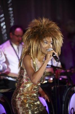 Tina Turner wedding singer impersonator