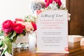 bridal shower activity ideas calligrapher to write love notes