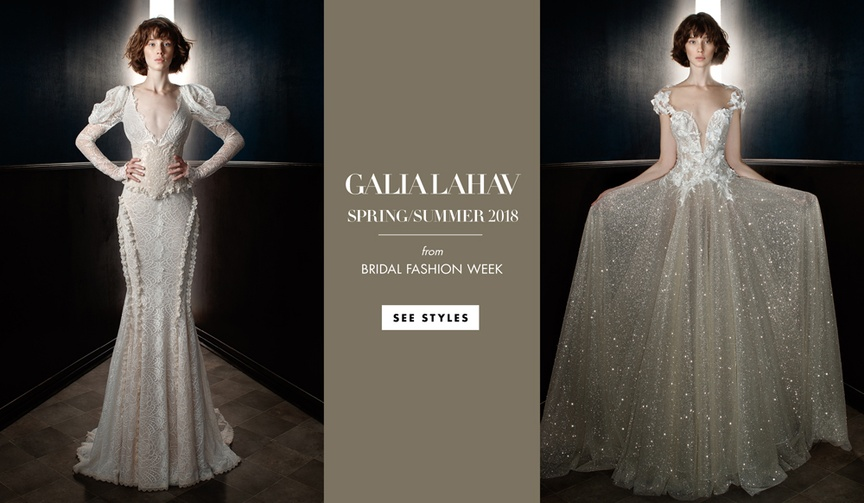 Galia Lahav spring summer wedding dress collection 2018 bridal gowns