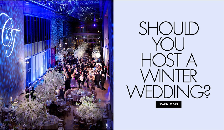 Should you host a winter wedding pros and cons of winter weddings