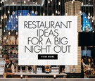 restaurant ideas in the united states for a bachelor party or bachelorette party