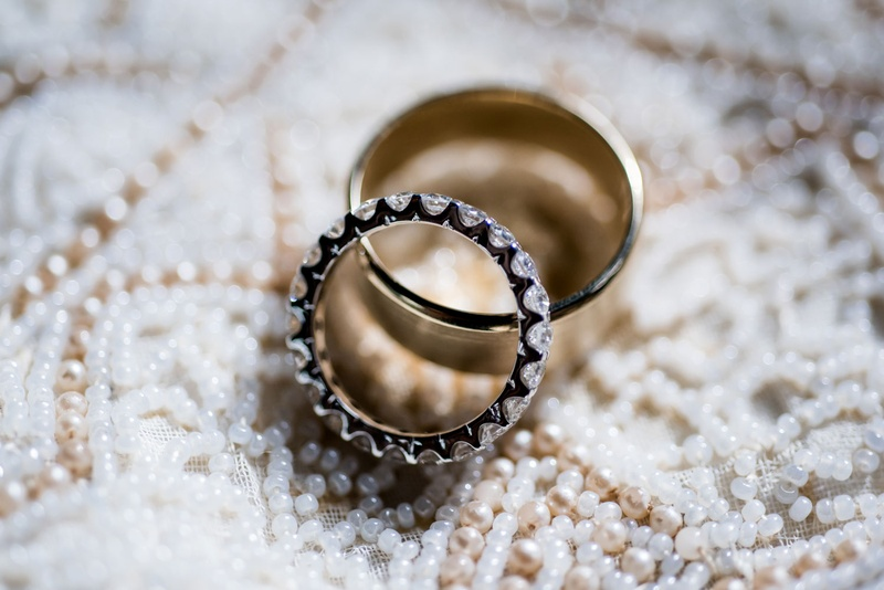 Wedding rings eternity band diamond ring with polished gold men's band wedding ring on alon livne