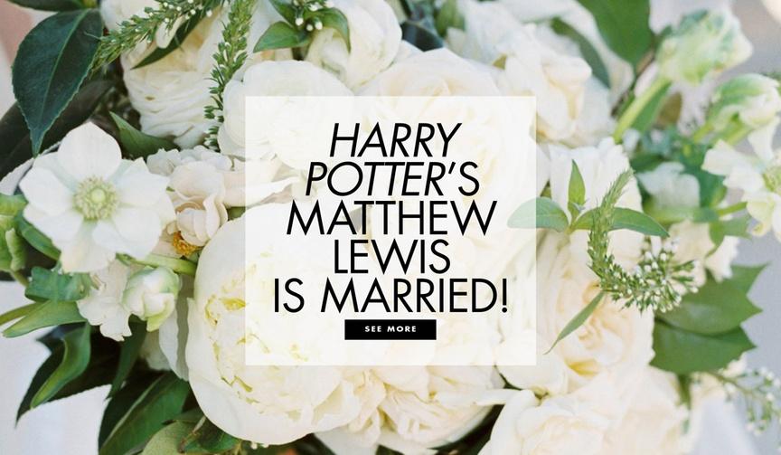 Harry Potter actor Matthew Lewis aka Neville Longbottom was married to Angela Jones in Italy
