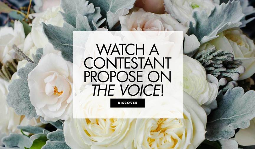 denton arnell proposal on the voice john legend