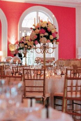 The Greenbrier grand ballroom decorations