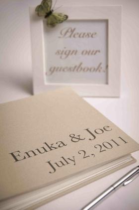 Enuka Okuma and Joe Gasparik's wedding guestbook