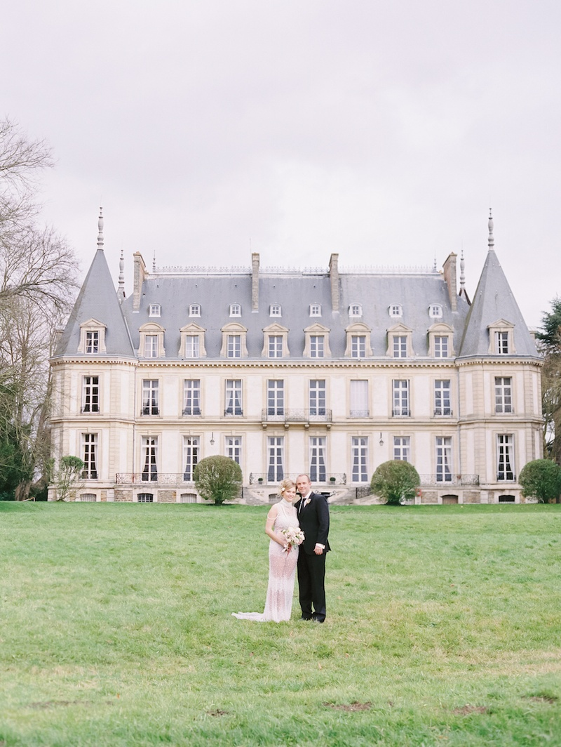 Castle wedding venue in the French countryside, Chateau de Santeny