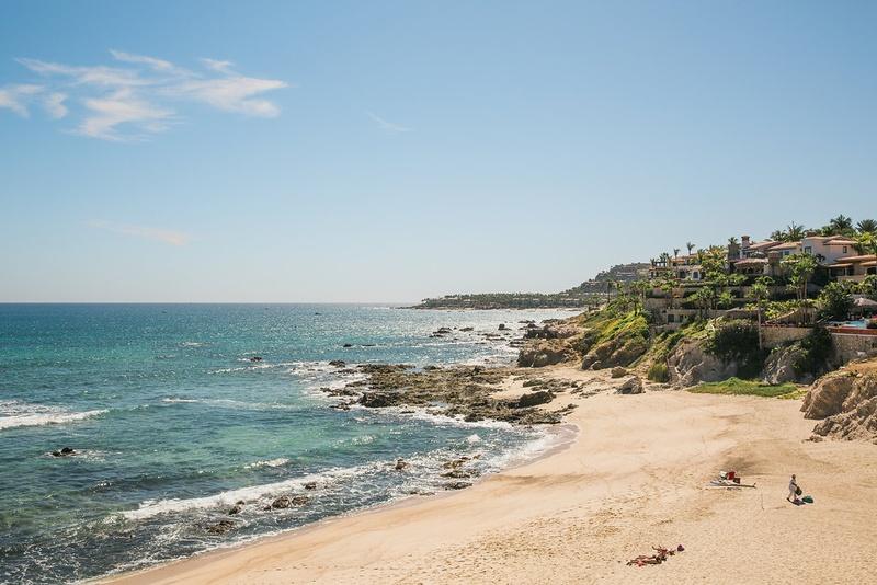 a beautiful picturesque beach in san jose del cabo los cabos mexico
