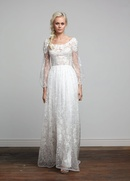 Joy Collection Barbara Kavchok Wynonna wedding dress lace a line gown