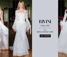 Bridal Fashion Week Rivini Fall 2018