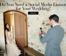 Do you need a social media liaison for your wedding? Find Out!