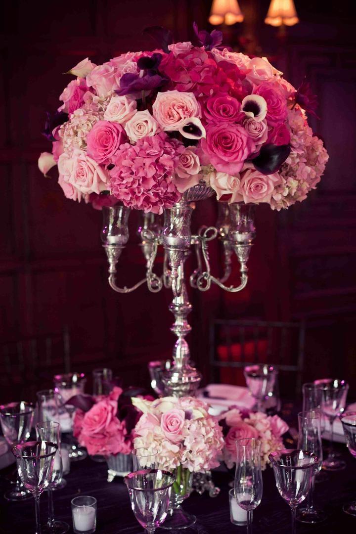 Shades Of Purple Wedding Decorations