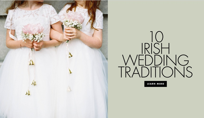 Ten Irish wedding traditions in honor of st patrick's day