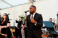 wedding reception live band gold coast events the chicago players performing tent wedding