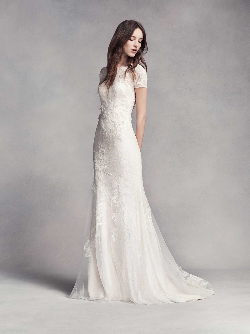 Wedding Dresses Photos - Classic Wedding Gown with Embellishments ...
