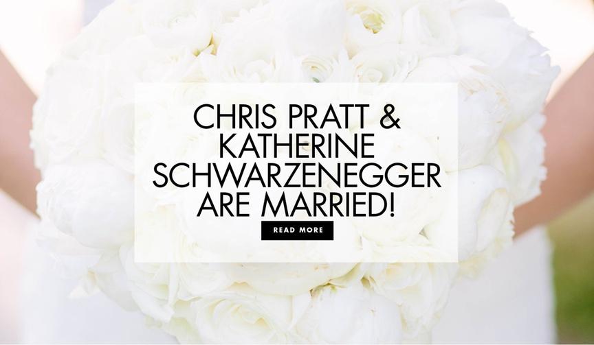 Chris Pratt and Katherine Schwarzenegger are married san ysidro ranch