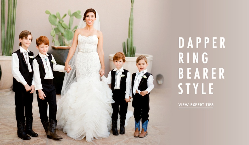 Cute ring bearer outfits for your wedding ceremony