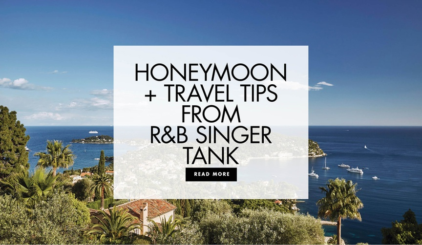 honeymoon and travel tips from zena foster and durrell babbs r and b singer tank