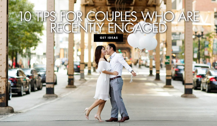 10 tips for couples who are recently engaged