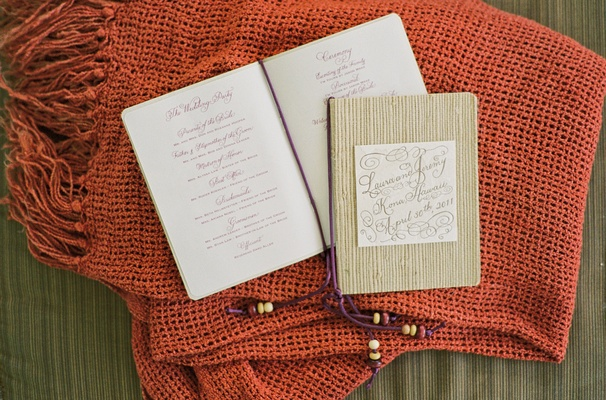 Laura Hooper's Hawaiian ceremony booklets