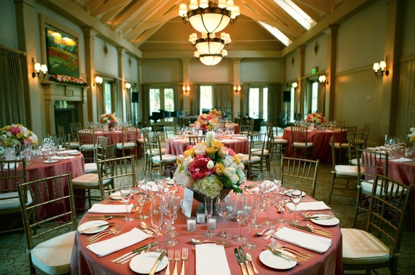 Inn at Palmetto Bluff ballroom reception