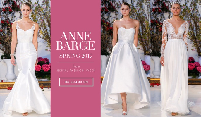 Wedding Dresses: Anne Barge Spring 2017 Collection - Inside Weddings