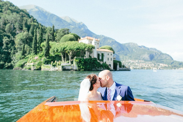 wedding transportation for lake como italy wedding ceremony and reception on different parts of lake