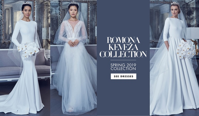 Bridal Fashion Week: Romona Keveža Spring 2019 - Inside Weddings