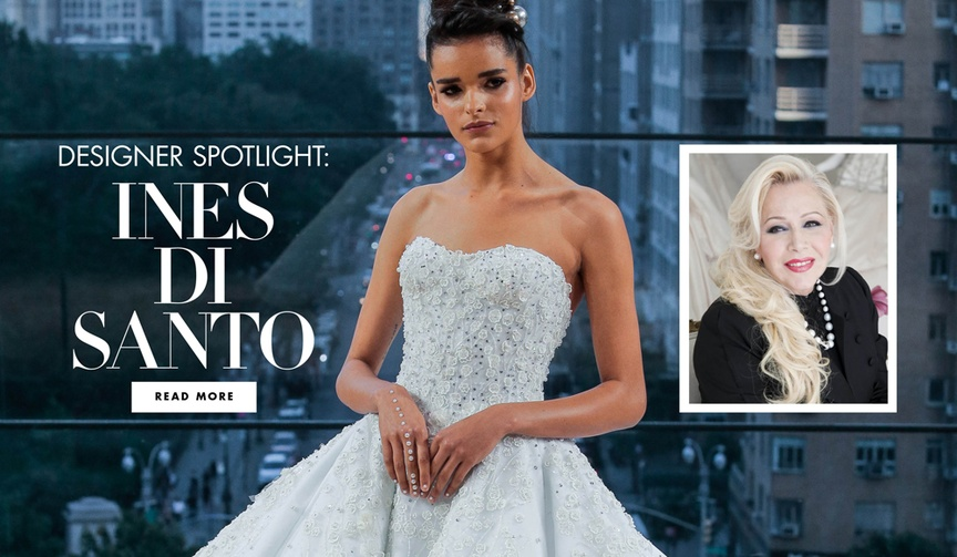Learn more about the famed designer and the future of bridal fashion.