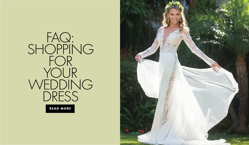 Bridal Reflections FAQ shopping for your wedding dress
