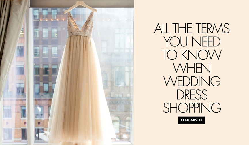 terms before going your first appointment bridal gown appointment tips tricks wedding shopping