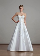 Liancarlo Spring 2018 bridal collection 6895 wedding dress mikado sweetheart ball gown